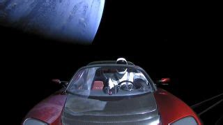 View Current Location Of Tesla Car In Space Images