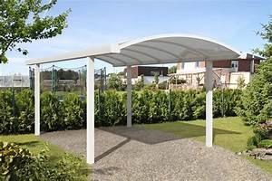 Carport Alu Freitragend : einzel bogen carport 300 x 500 cm ~ Frokenaadalensverden.com Haus und Dekorationen