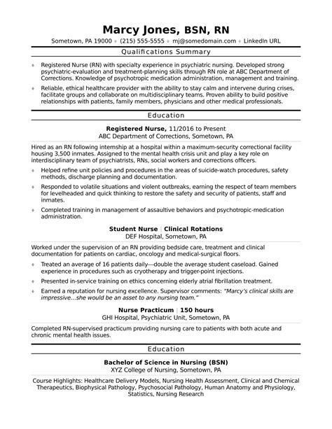 learn how to build a powerful entry level resume with this free resume sle nursing