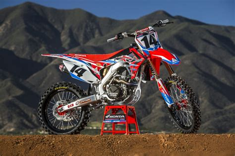 racing motocross bikes 2016 crf450r race bikes team honda hrc presents 2016