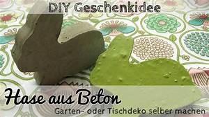 Gefäße Aus Beton Selber Machen : diy deko aus beton betonhase als gartendeko oder geschenk youtube ~ A.2002-acura-tl-radio.info Haus und Dekorationen