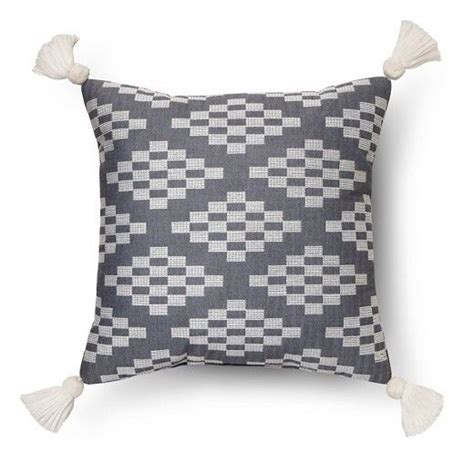 Target Bedroom Throw Pillows by Herringbone Embroidered Square Decorative Pillow 18 Quot X18