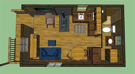 sweatsville 12 x 24 lofted barn cabin in sketchup