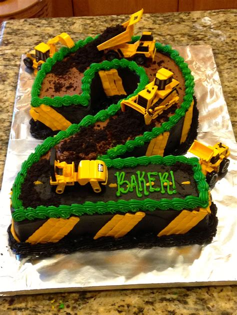 construction cake ideas construction theme 2nd birthday cake construction cake 3026