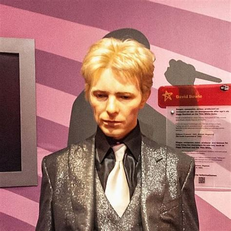 David Bowie Of Amsterdam by David Bowie At Madame Tussauds Amsterdam In Amsterdam