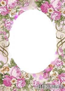 Vintage Flower Frames for Photoshop