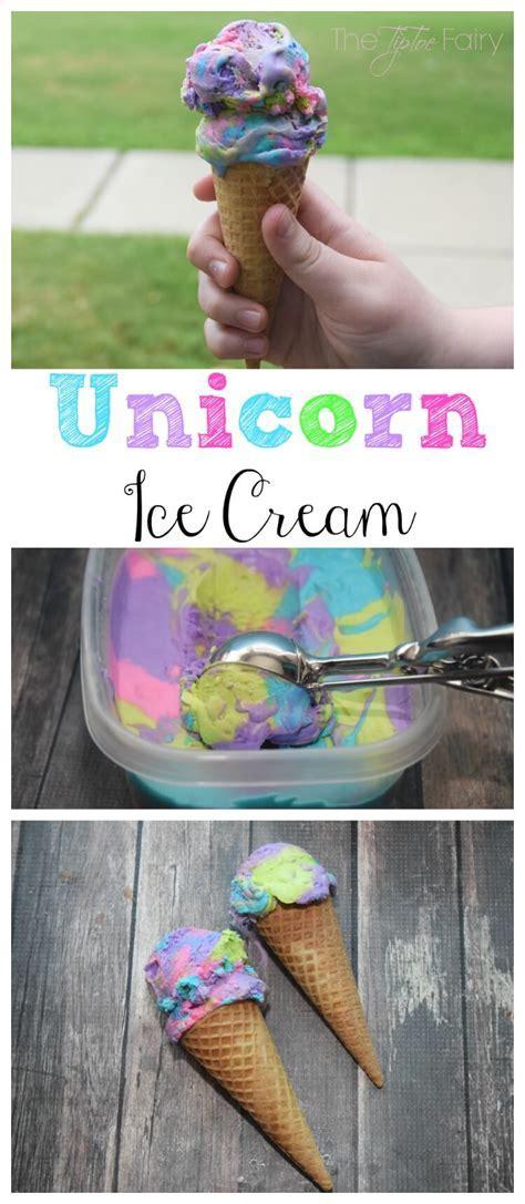 Unicorn Ice Cream   The TipToe Fairy