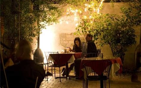 alfresco  haute  outdoor dining restaurants