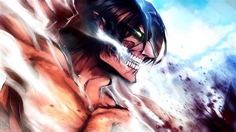 shingeki  kyojin eren jeager anime anime boys