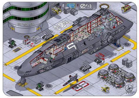 images  spaceship floorplans cutaways