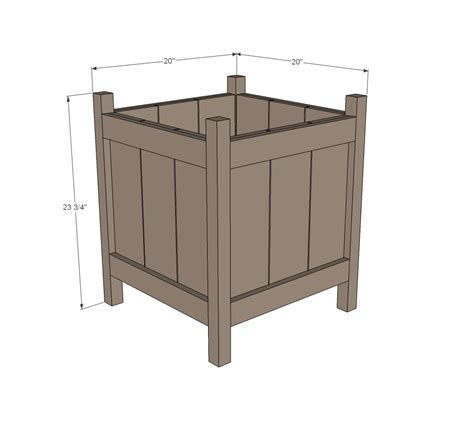woodwork woodworking planters  plans