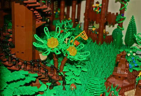 amazing lego moc lego fairy forest brick archives