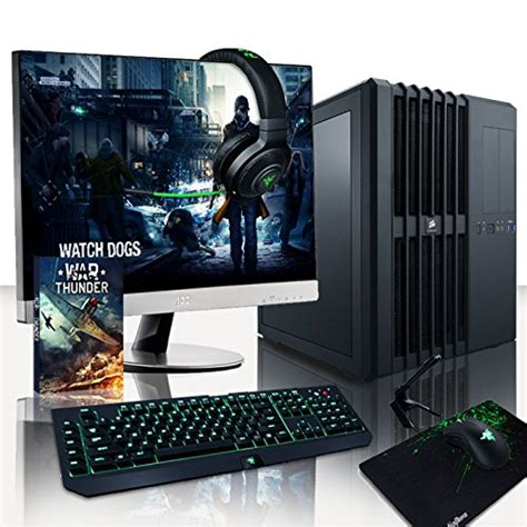 pc bureau gaming ordinateurs de bureau vibox