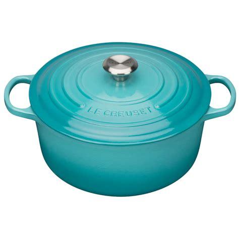 casserole creuset dish le iron cast round teal 20cm signature 28cm 24cm pot woman toys thehut cookware