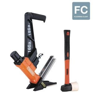 18 Flooring Nailer Pf18glcn by Freeman Pneumatic 3 In 1 16 T L Cleat Nailer And 18