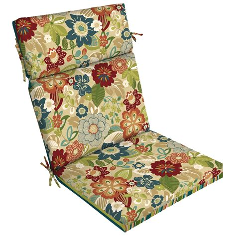 Garden Treasures Patio Furniture Cushions by Shop Garden Treasures Bloomery Bloomery Floral Standard