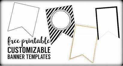 Banner Printable Templates Banners Blank Party Template