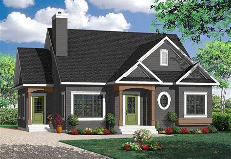 Plan 21775DR: Delightful Cottage House Plan Cottage