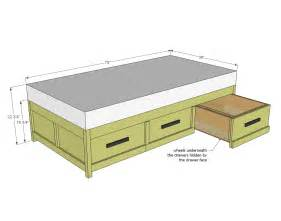 Ikea Hemnes Bed Frame Instructions by Ana White Daybed With Storage Trundle Drawers Diy Projects