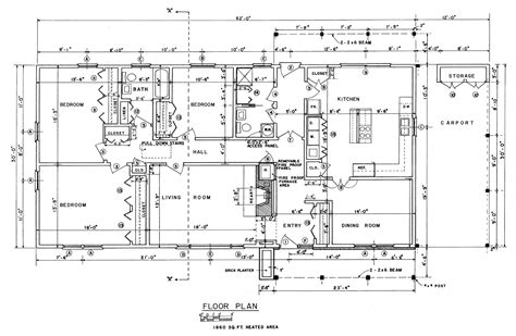 ranch house floor plans ranch style house house blueprints  treesranchcom