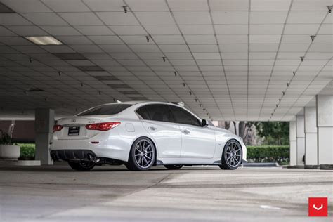 infiniti  hybrid forged series hf  vossen wheels