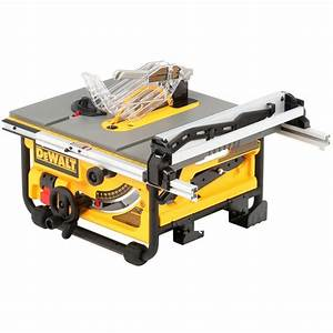 DEWALT 15 Amp 10 in Compact Job Site Table Saw-DW745