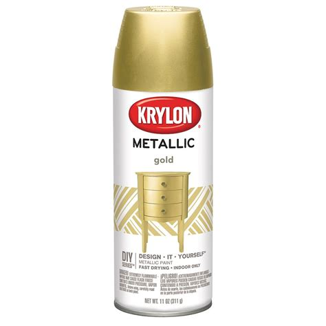krylon 174 diy series metallic paint