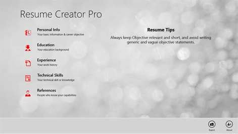 Resume Creator Mobile by Buy Resume Creator Pro Microsoft Store