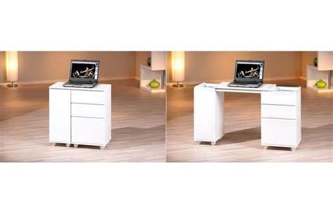 bureau laque blanc armoire de bureau blanc laque
