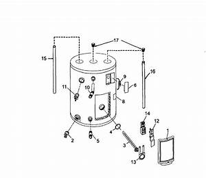 Kenmore 153316060 Electric Water Heater Parts