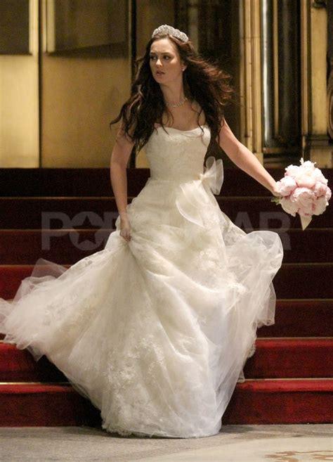 blair waldorf wedding dress pictures  gossip girl set