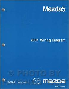 2007 Mazda 5 Wiring Diagram Manual Original