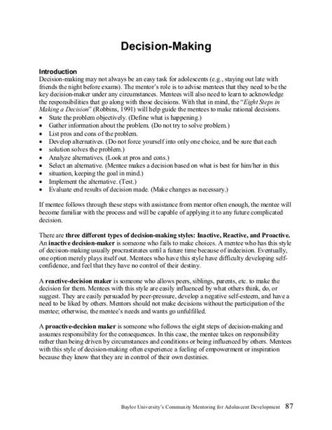 worksheet decision skills worksheets hunterhq