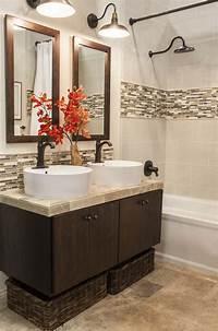 tiles for bathrooms Accent Tile Bathroom on Pinterest   Vertical Shower Tile ...