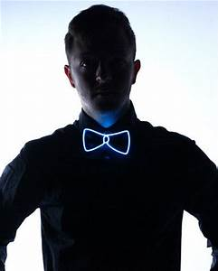 Electric Neon Bow Ties Light Up Bow Tie