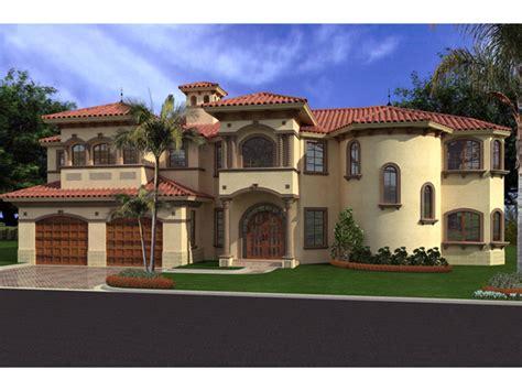 Placida Spanish Luxury Home Plan 106s-0068