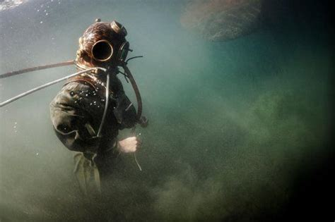 diving suit underwater photography underwater deep