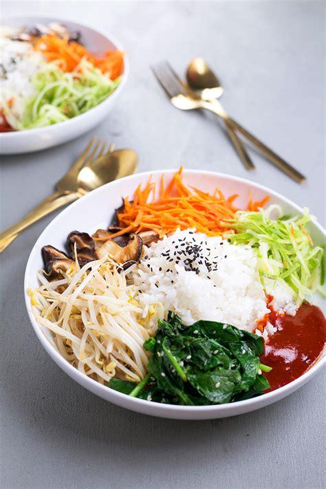 vegan korean bibimbap crazy vegan kitchen