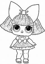 Lol Coloring Pages Surprise Unicorn Dolls Printable Doll Yandex Blogx Info sketch template