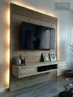 Le Hinter Fernseher by Id 233 E Pour Habiller Le Mur Derri 232 Re La T 233 L 233 Une Large