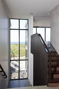 Full, Height, Windows, In, A, Double, Height, Space, Architecture, Daylighting, Door, House, Interior