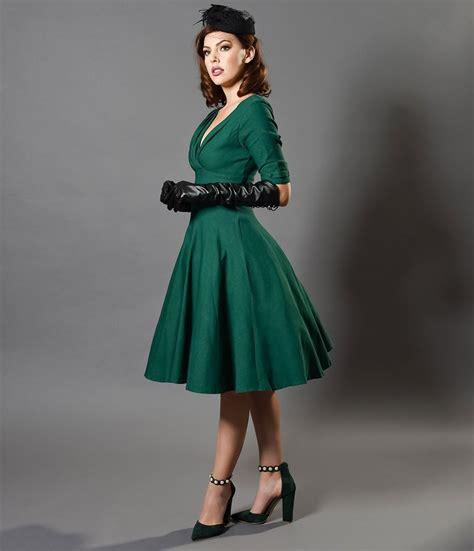 Swing Dresses - Vintage 50s Dresses for Sale u2013 Unique Vintage