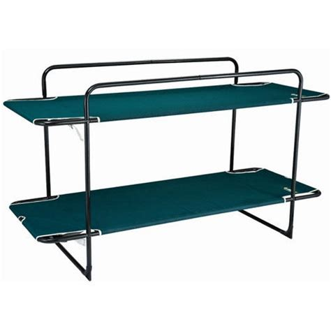portable bunk beds oztrail bunk portable stretcher cing bed new ebay