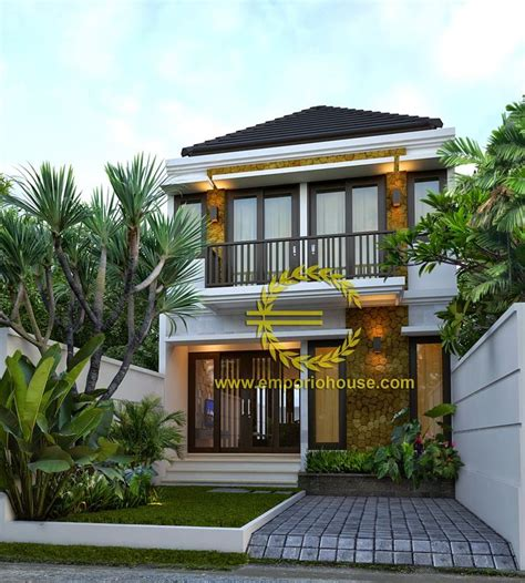 desain rumah minimalis modern  lantai home ideas