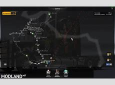 Map Eldorado Map Rodobrasil for 124 mod for ETS 2