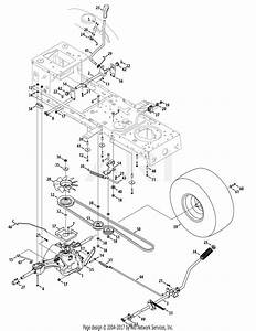 Troy Bilt 13wx79kt011 Horse  2010  Parts Diagram For