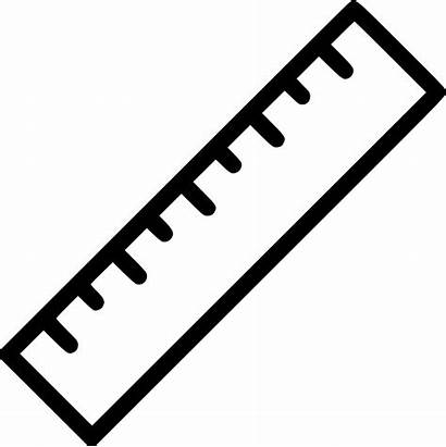 Ruler Scale Icon Length Svg Rule Measure