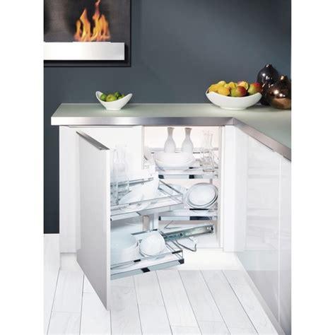 rangement pivotant cuisine plateaux pour meuble d 39 angle de cuisine magic corner