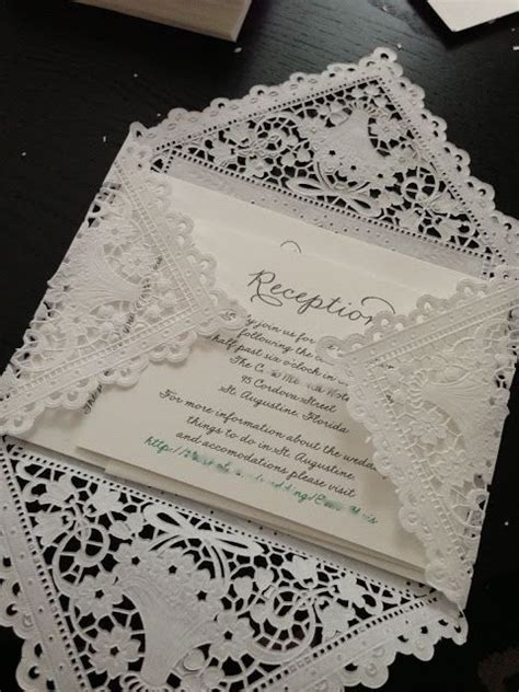 diy invitations get the laser cut look for a fraction of