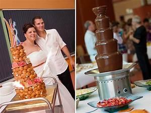 Idée Buffet Mariage : un mariage fun et orange avec un buffet de dessert de folie mademoiselle dentelle ~ Melissatoandfro.com Idées de Décoration